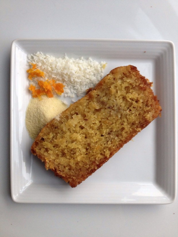'Jerusalem' Orange, Semolina & Coconut Cake