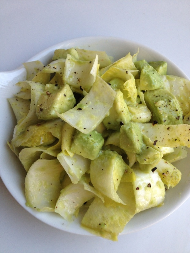 Endive & Avocado with French Vinaigrette